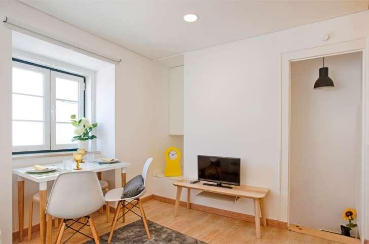 apartemen ruang tv