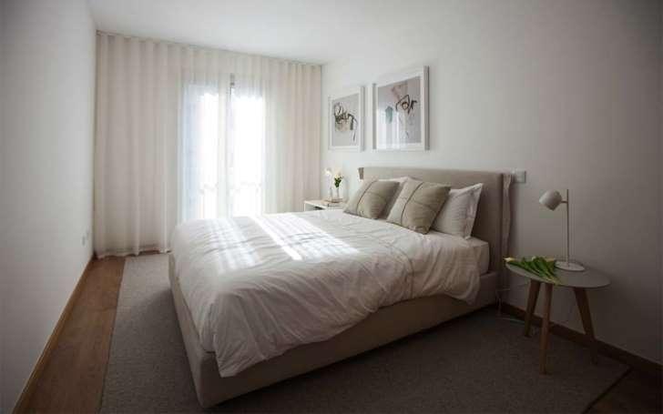 inspirasi interior apartemen kamar tidur double